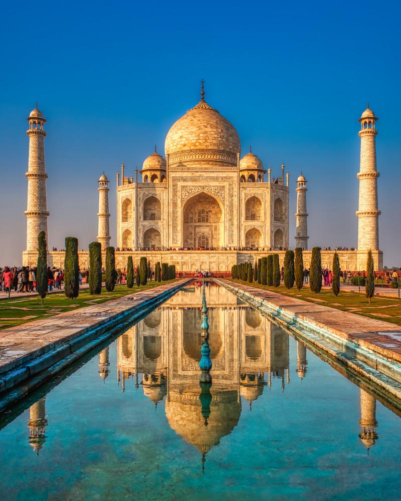 The Majestic Taj Mahal Photography Art | Rick Vyrostko Photography