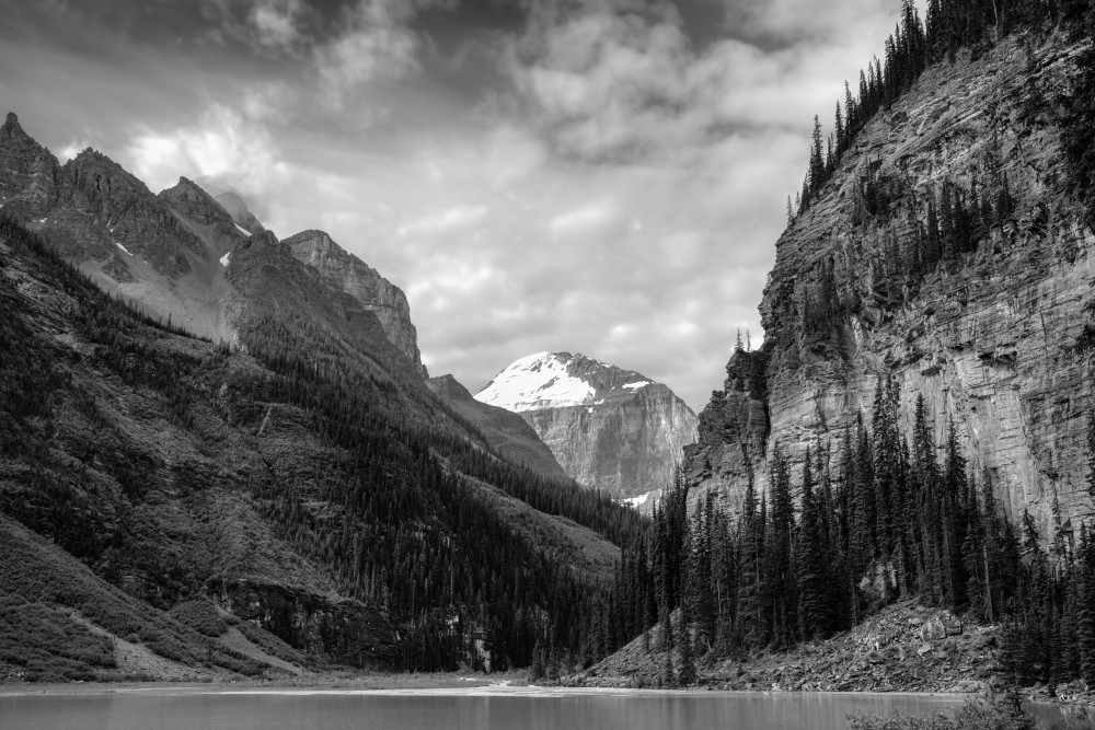 Peaks Over Lake Louise Art | James Alfred Friesen