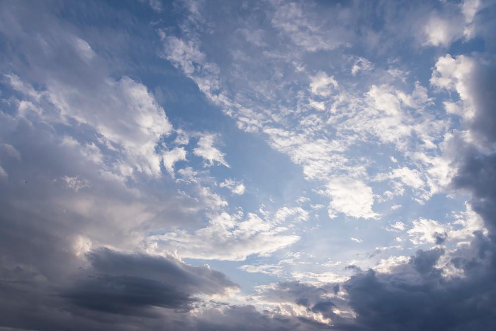 Cloud Formations, Damon, Texas