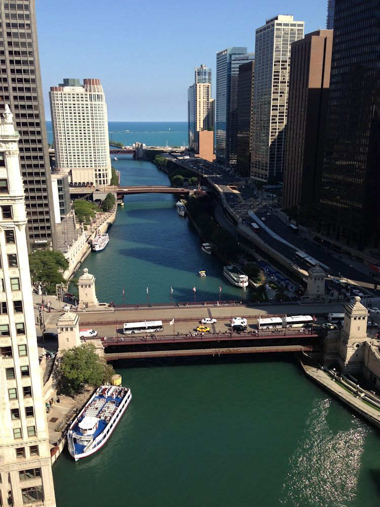 Chicago River Photography Art   Kathleen Messmer Photography