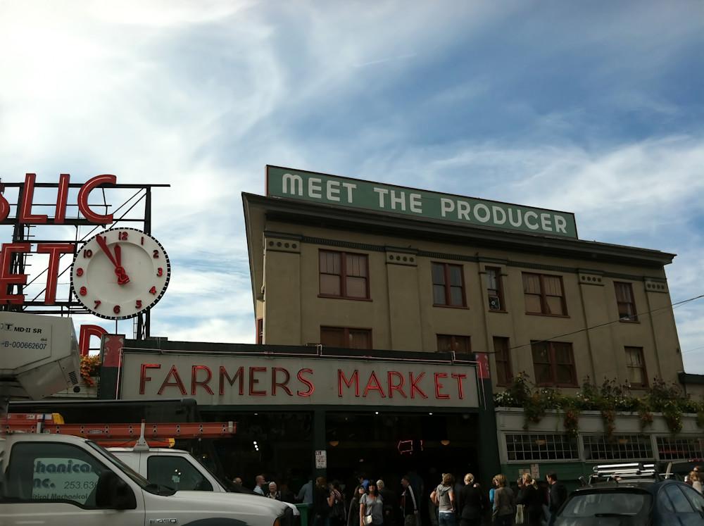 Public Market   Seattle Photography Art   Kathleen Messmer Photography