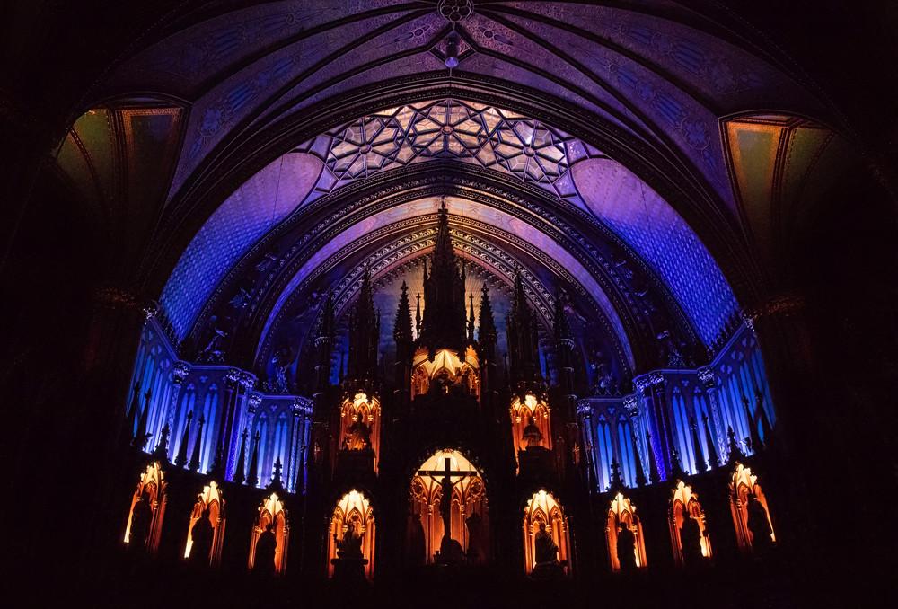 Interieur Basilique Notre Dame Photography Art | Kathleen Messmer Photography
