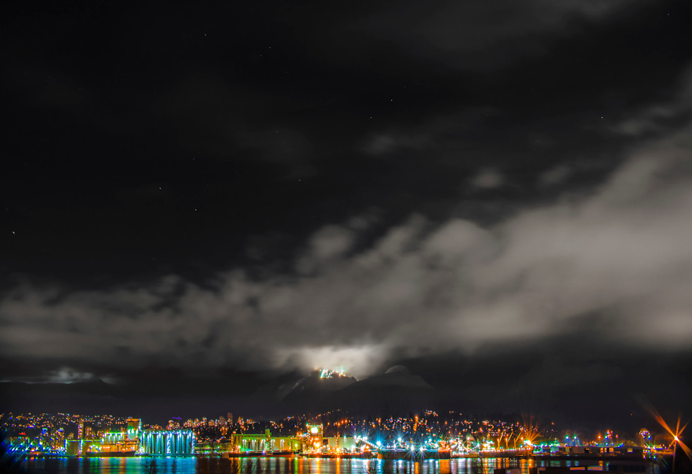 North Shore Lights Art | James Alfred Friesen