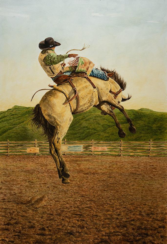 "Raymond Wattenhofer Limited Edition Fine Art Print ""Highflier"""
