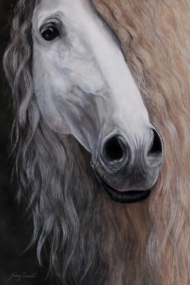 Devoro II by Nancy Conant with beautiful horse mane