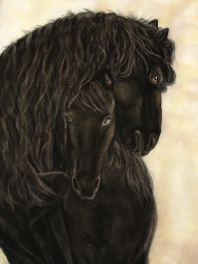 Are horses affectionate? Kindred Spirits by Nancy Conant proves they are!