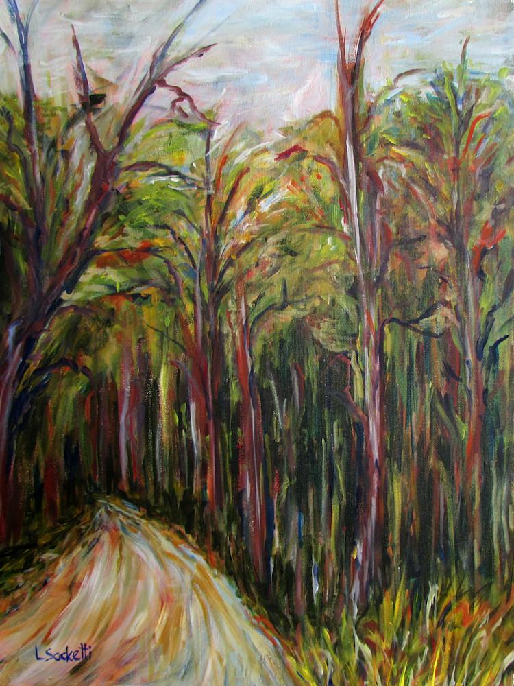 Enchanted Forest Art   Linda Sacketti