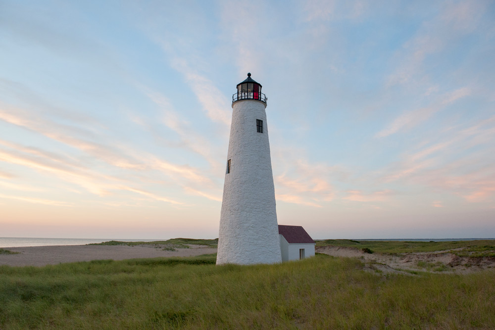 Morning At Great Point Light Photography Art | Kit Noble Photography