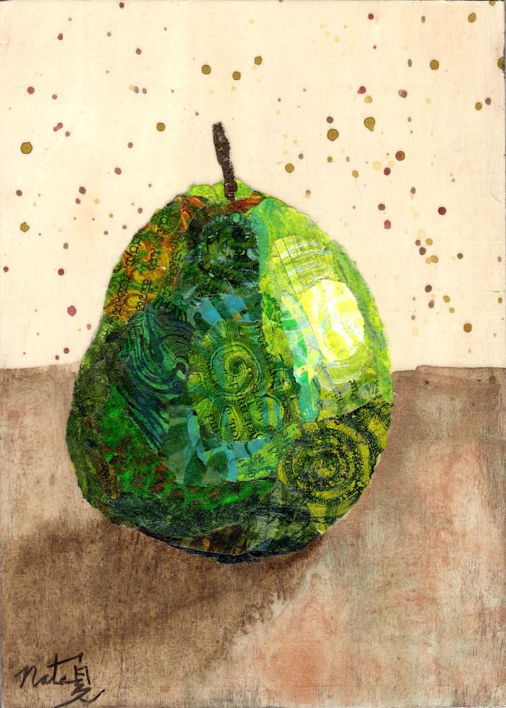 The Green Pear: D'anjou Art | Poppyfish Studio
