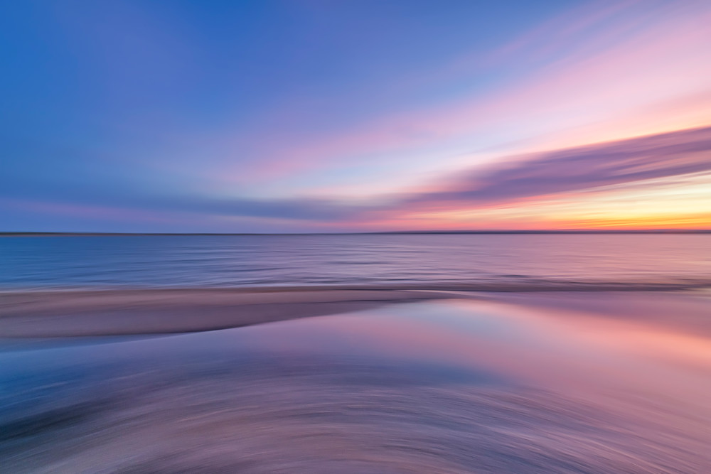 Long Point Ethereal Sunset Art   Michael Blanchard Inspirational Photography - Crossroads Gallery