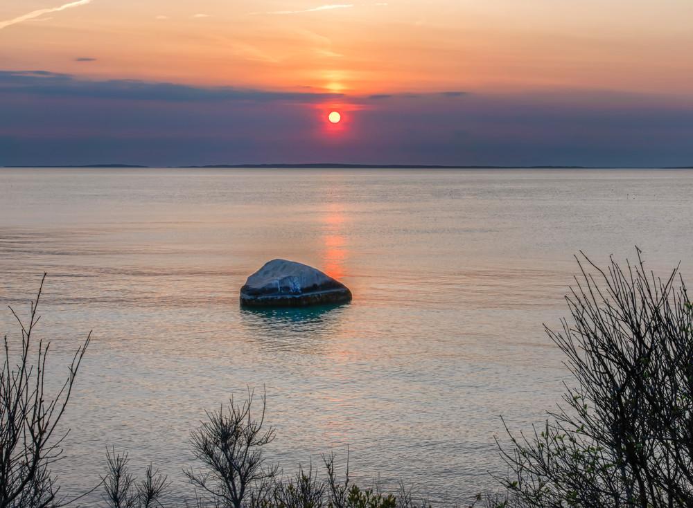 Great Rock Bight Sunset Stairs Art   Michael Blanchard Inspirational Photography - Crossroads Gallery