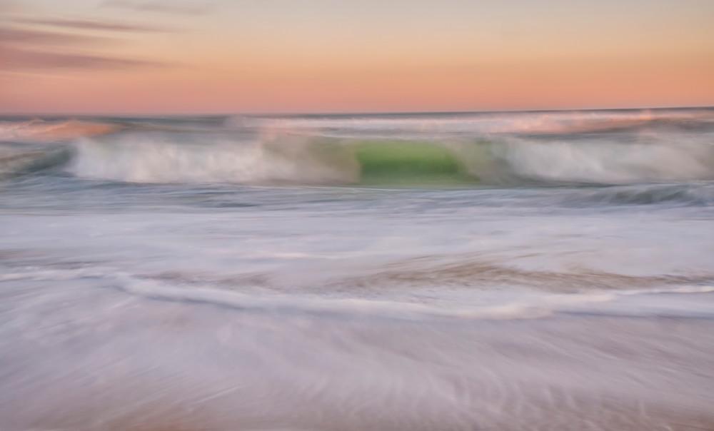 South Beach Soft Wave Sunset Art | Michael Blanchard Inspirational Photography - Crossroads Gallery