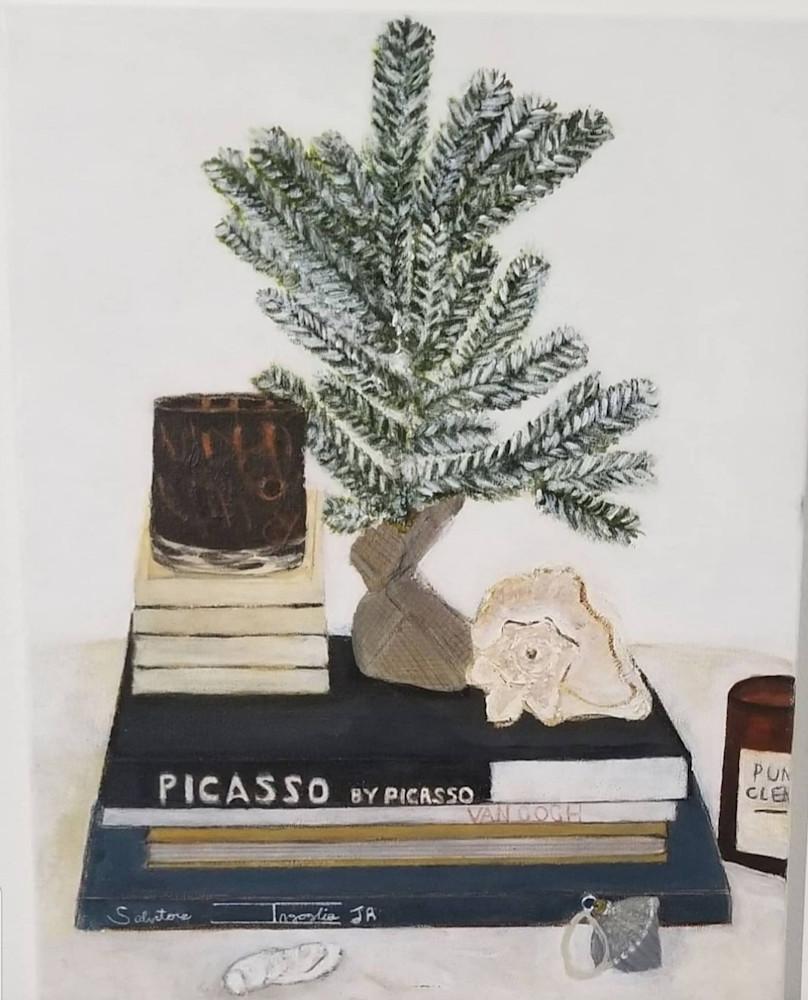 Winter Still Life Art   Salvatore Ingoglia / Jbellarts