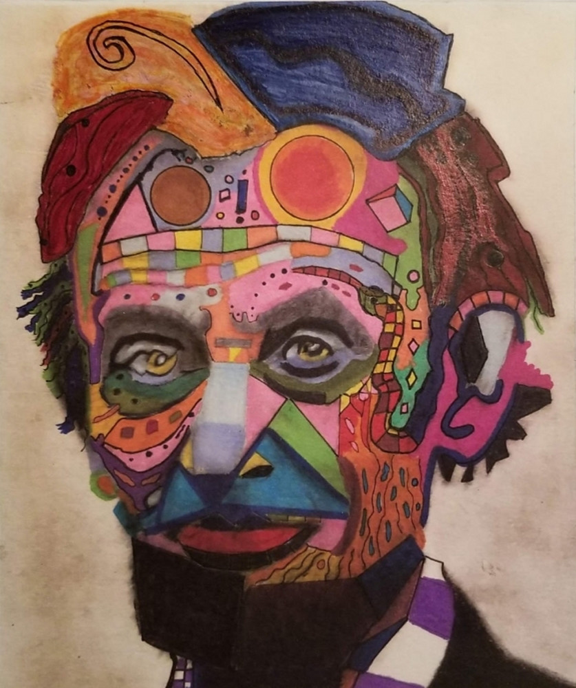 Abraham Lincoln Abstract Art   Salvatore Ingoglia / Jbellarts