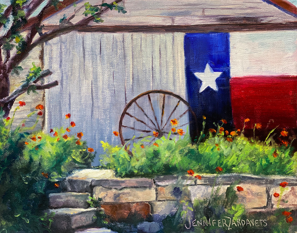 Texas Pride and Poppies