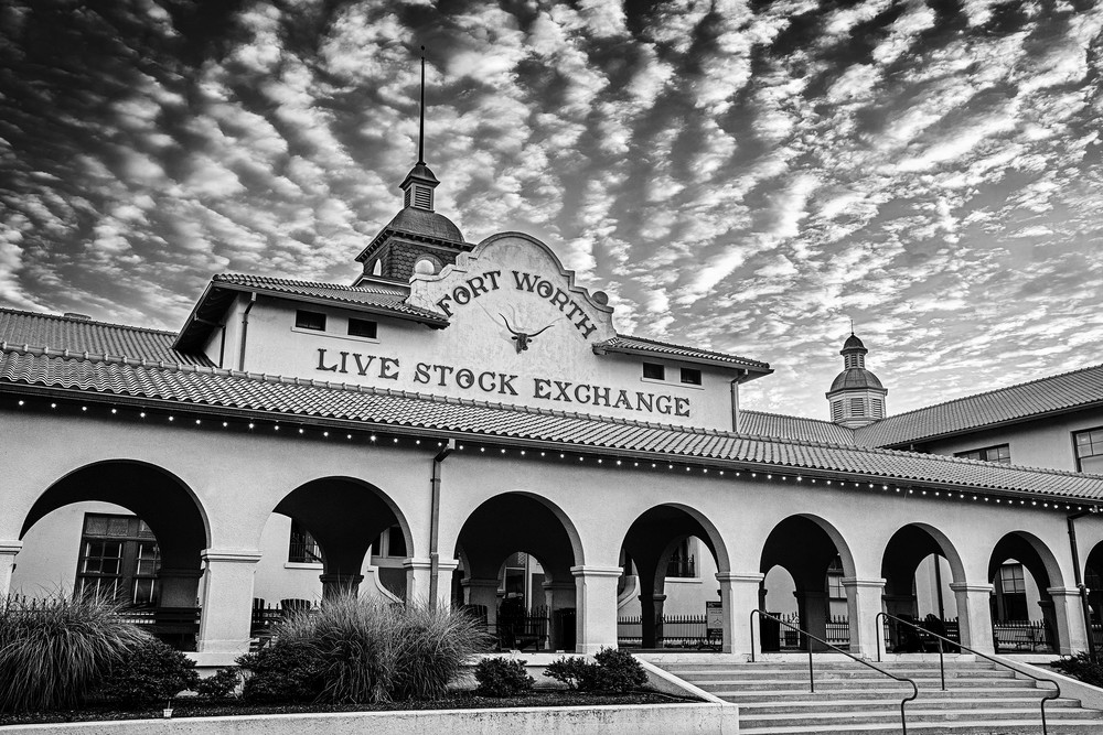 The Wall Street of the West - Fort Worth Live Stock Exchange fine-art photography prints