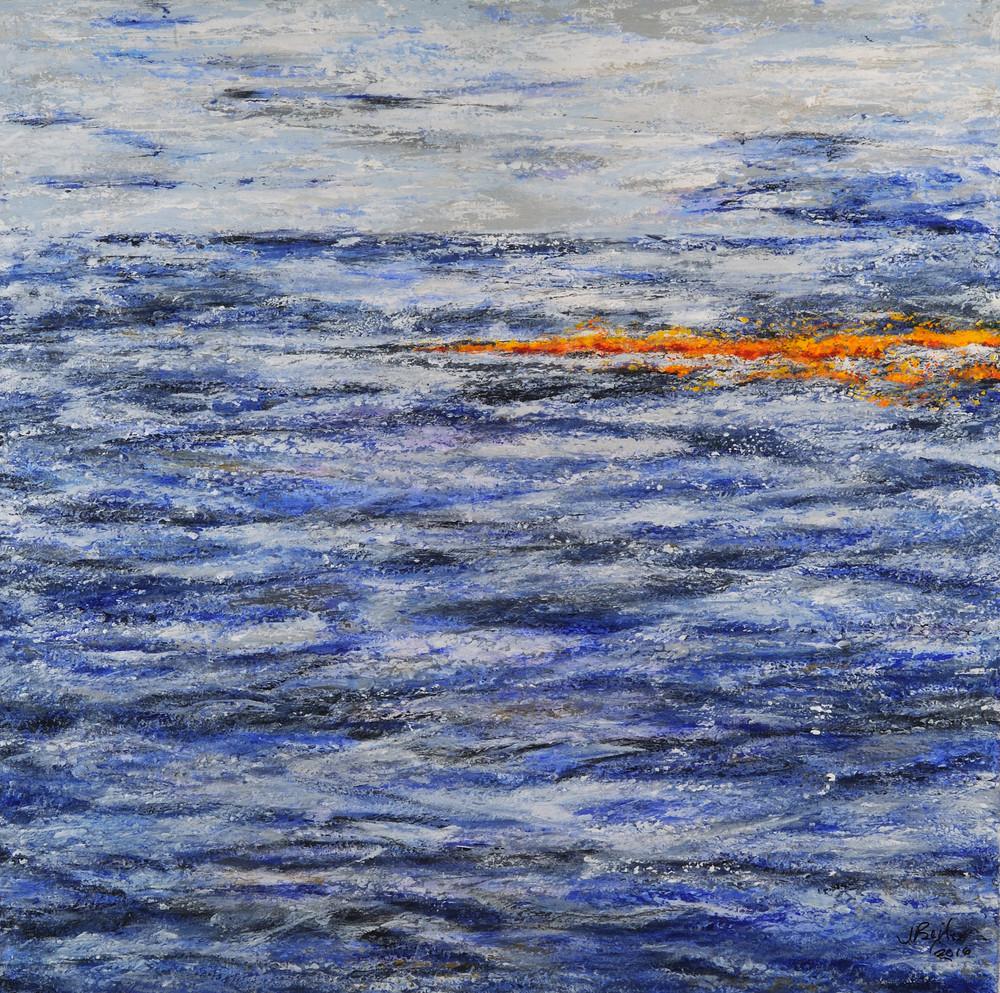Ocean Orange Art | Joan Bixler Art