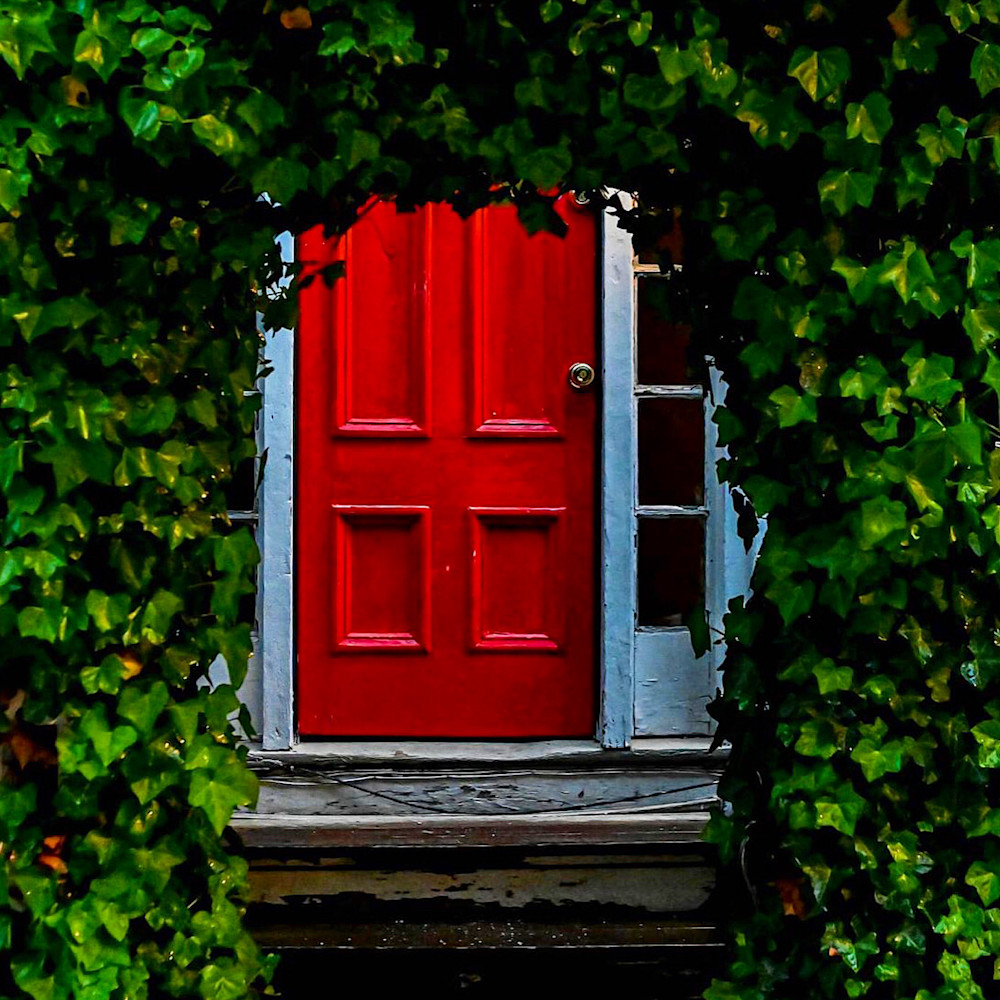 Red Door   Provincetown, Ma Photography Art | The Colors of Chatham