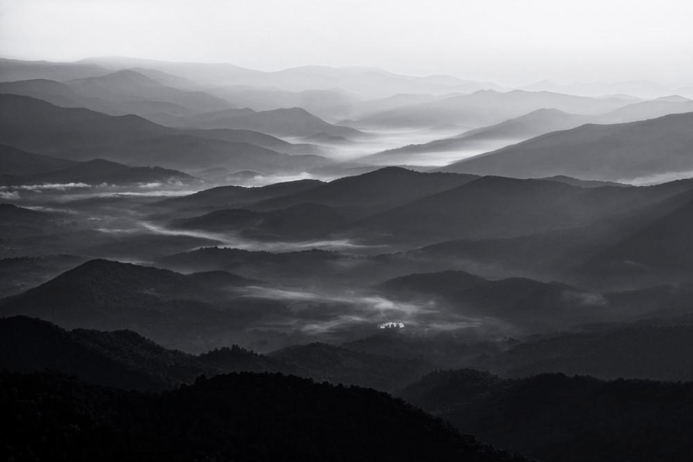 Brasstown Bald Contrasts - Georgia mountains fine-art photography prints