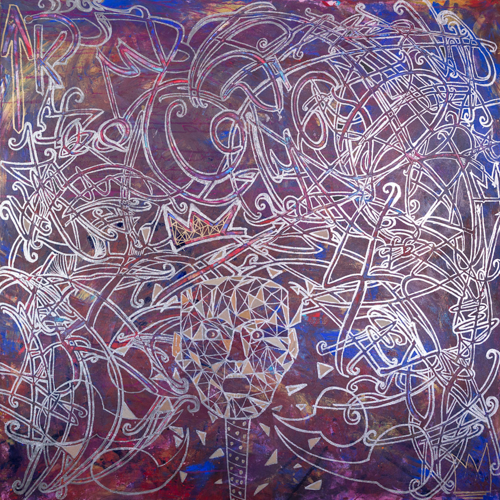 What's Your Mind Wrapped Around? Art   Justin Hammer Art