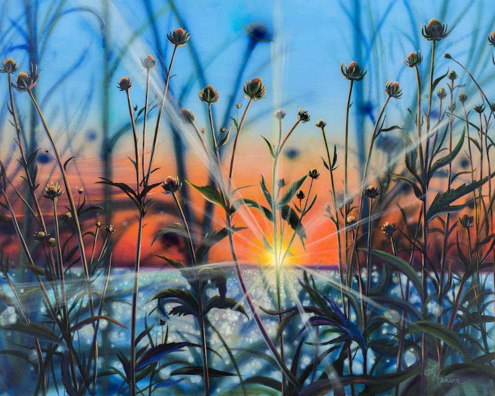 Sunset Silhouette Art | Leanne Hanson Art