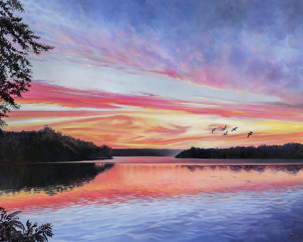 Before Sunrise Art | Leanne Hanson Art