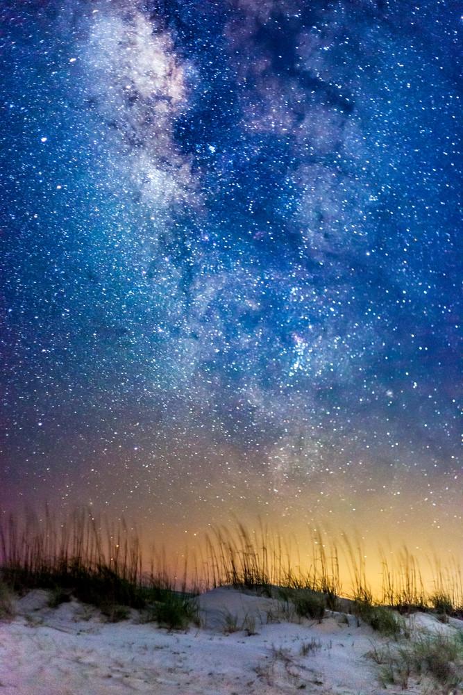 Tybee Stars and Sand before Sunrise
