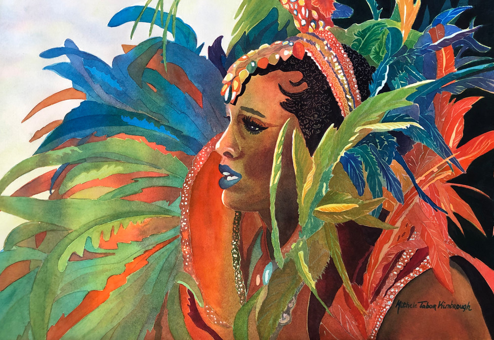 2. Queen Mary   Crucian Carnival Series Ii Art | Michele Tabor Kimbrough