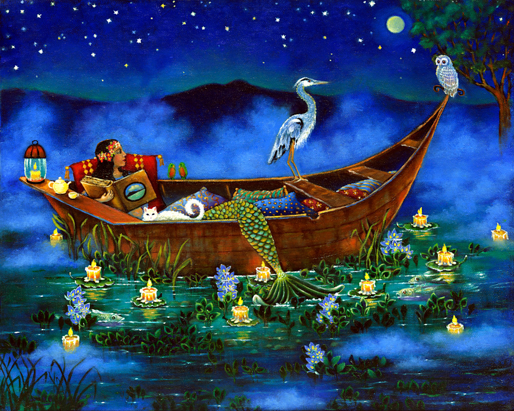 Mermaid Of Lake Chapala Art   miaprattfineart.com