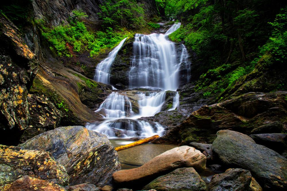 Moss Glen Falls of Stowe - Vermont waterfalls fine-art photography prints