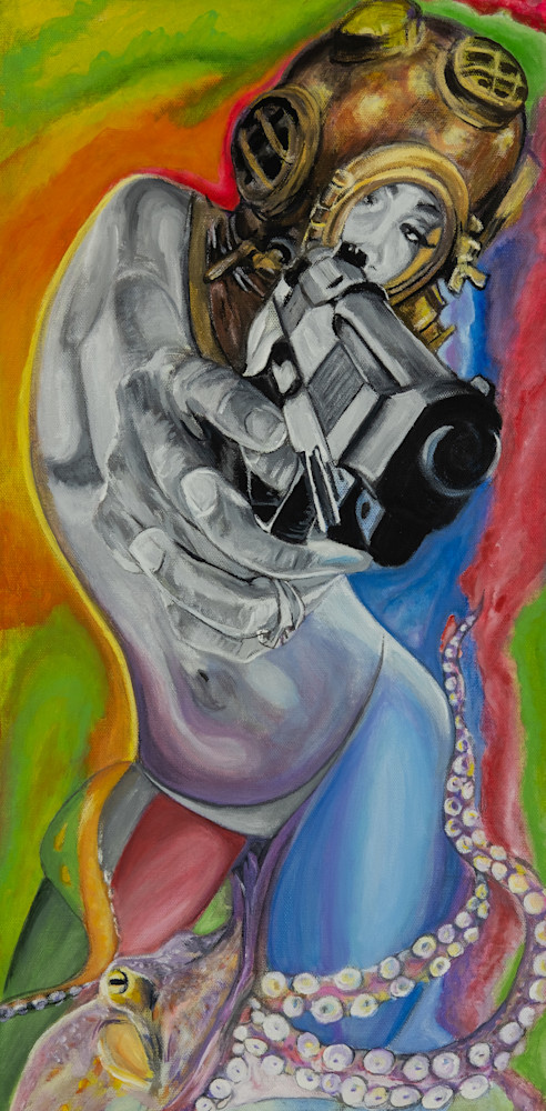 Aquatic Camoflauge Self Defense Art | Blac Rhino Art Group