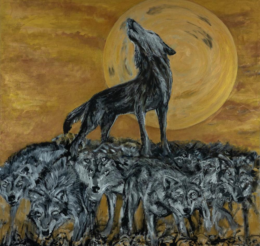 The Strength Of The Wolf Art   Blac Rhino Art Group