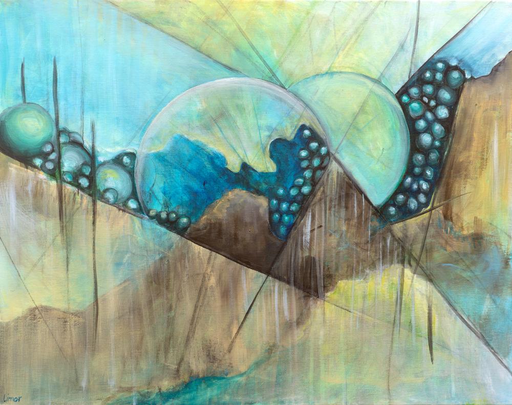 Forgotten Worlds Print Art   Limor Dekel Fine Art
