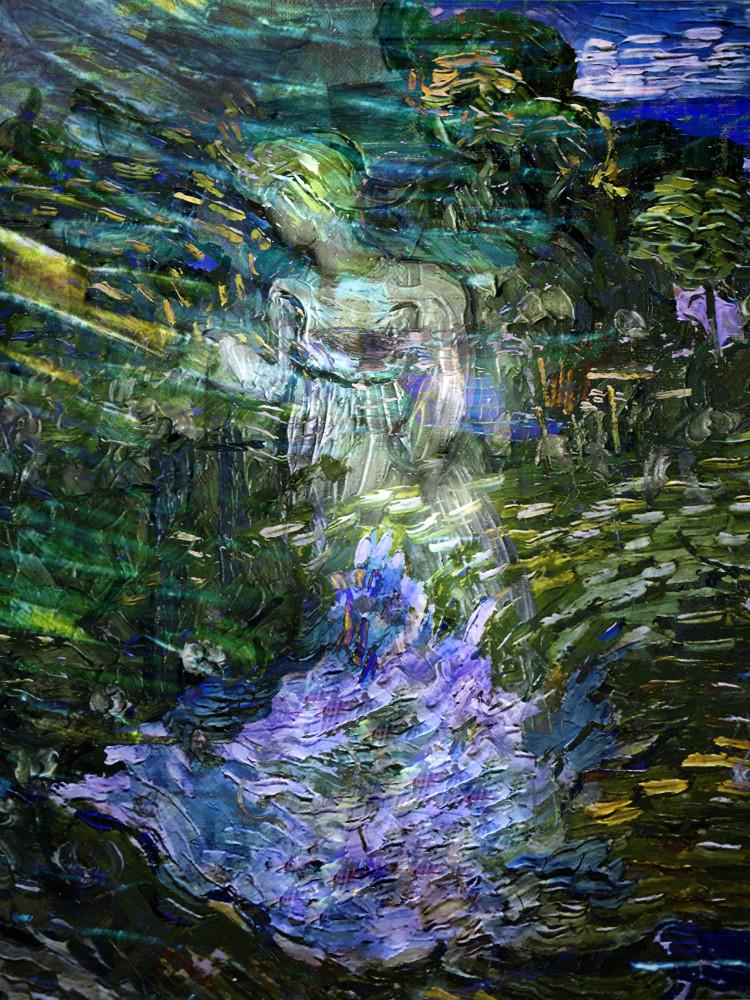 Gogh Gardener Art   KJ's Studio