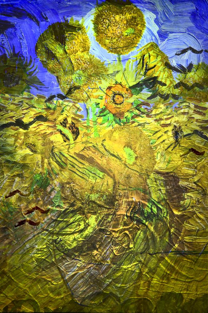 Gogh Sunflowers Art   KJ's Studio