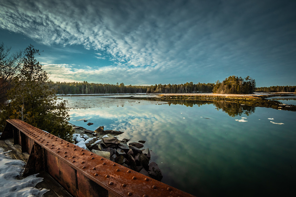 Old Pond Railway Trail Photography Art   Monteux Gallery