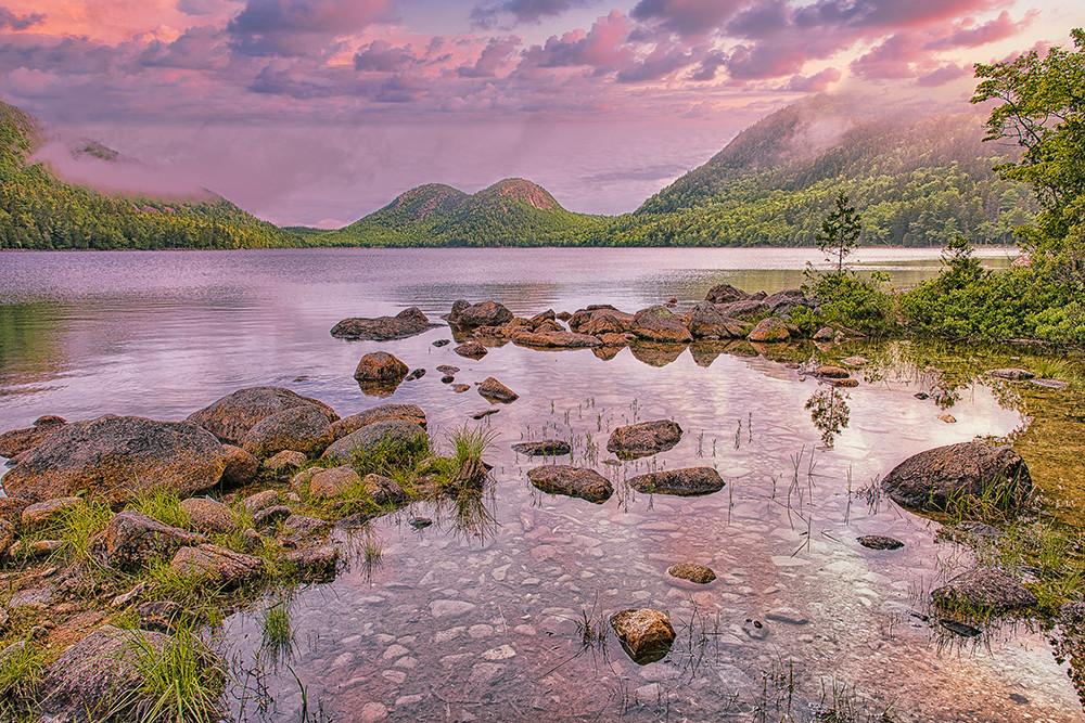 The Bubbles Jordon Pond, Acadia National Park Photography Art   http://www.mooseprintsgallery.com