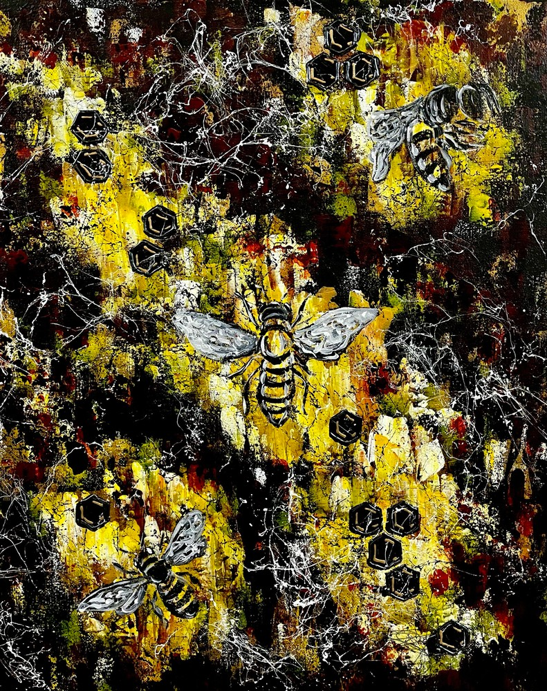 Beehive Art | Anthony Joseph Art Gallery