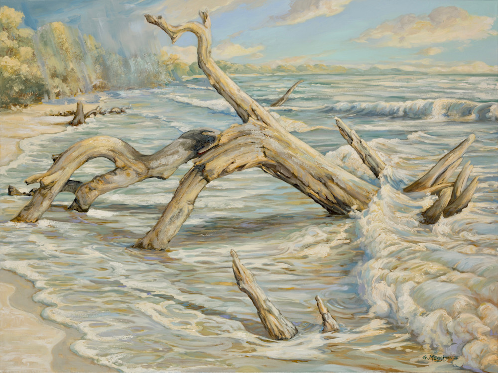 Returning From The Sea Art   gordonmeggison