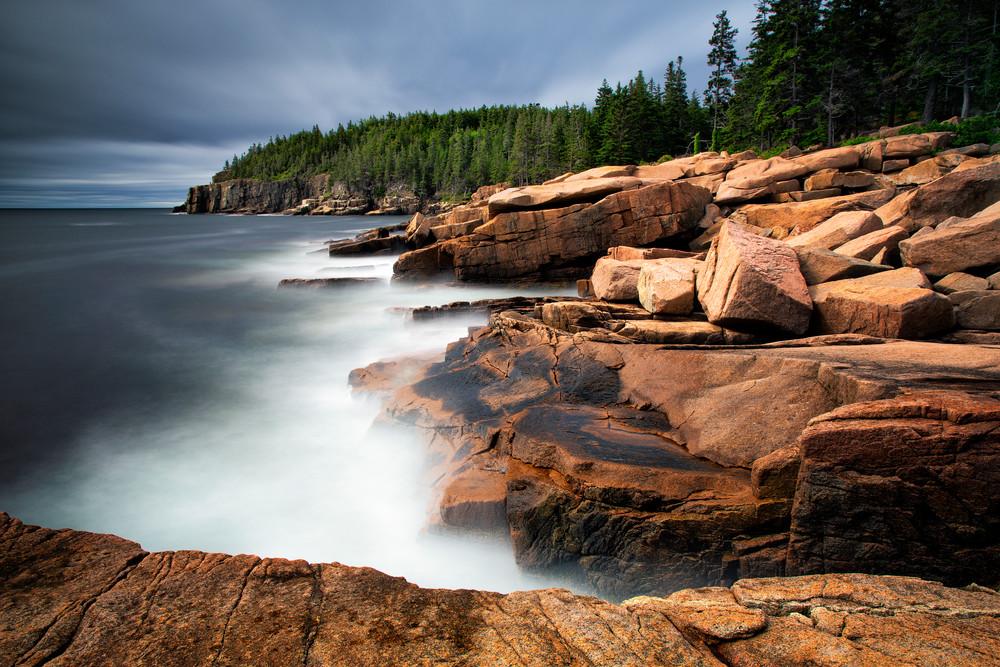Storm Over Otter Cliffs - Acadia National Park fine-art photography prints