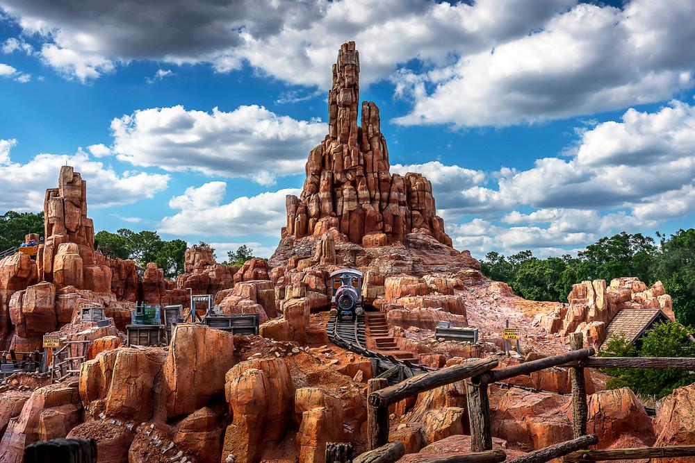 The Wildest Ride in the Wilderness - Disney Fine Art Galleries