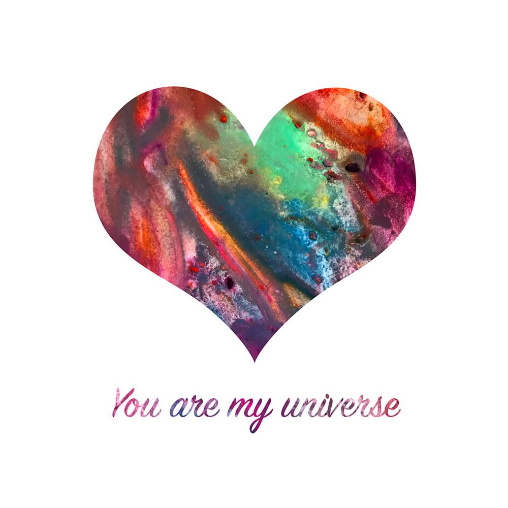 You Are My Universe Art   Jennifer Akkermans
