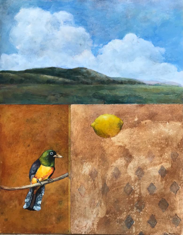 Bird With Lemon Art | michaelwilson