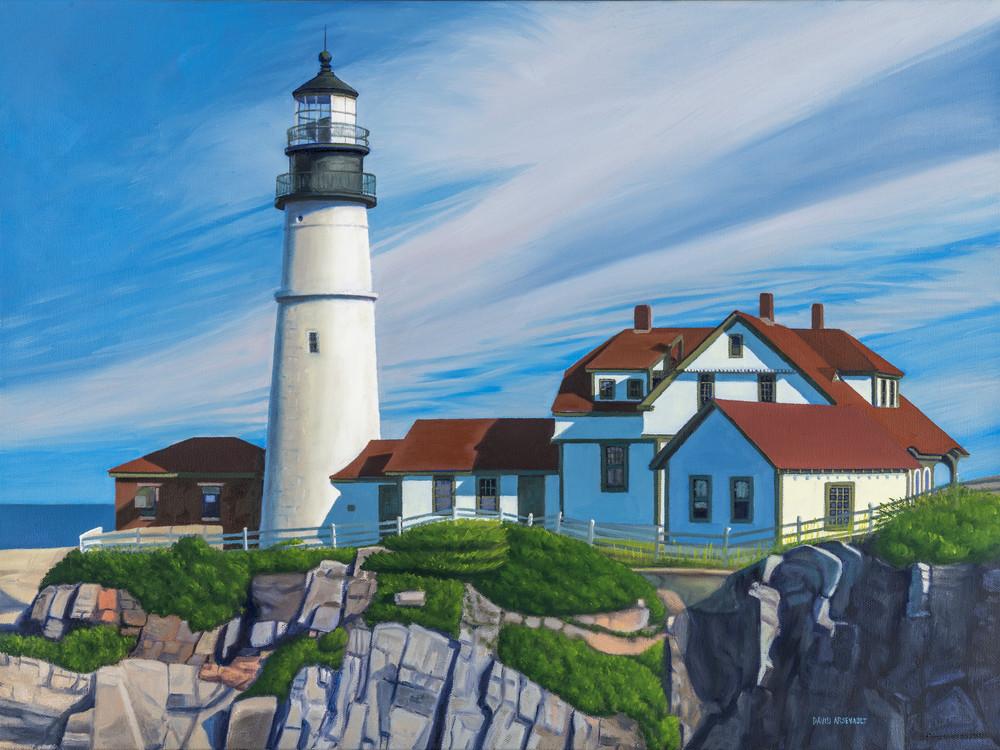 Portland Head Light Art | The Art of David Arsenault