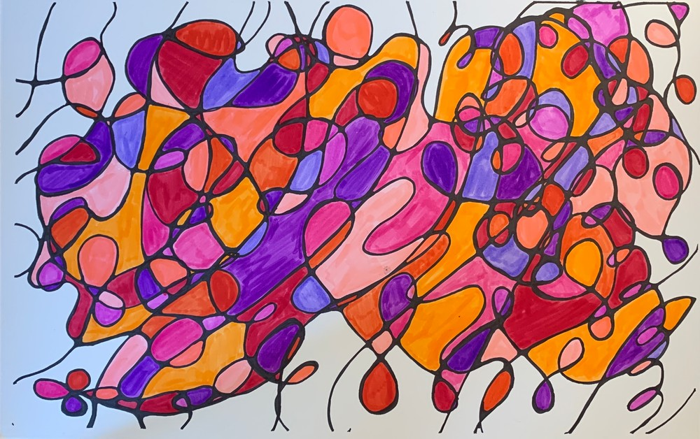 Neurogenic Art 2 Art   Marci Brockmann Author, Artist, Podcaster & Educator