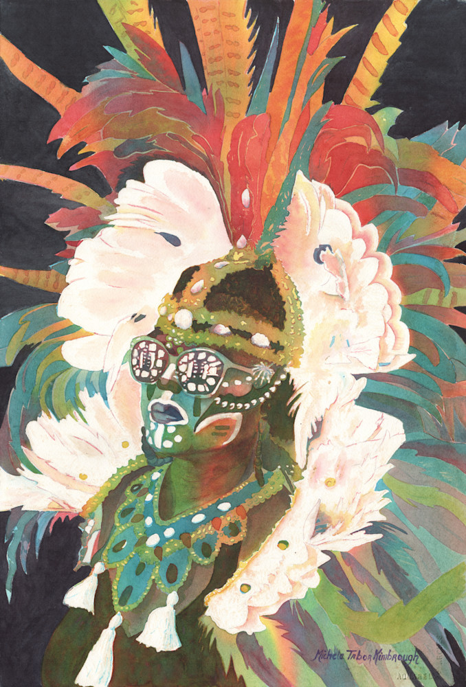3. She Mommaguy   Crucian Carnival Series Iii Art | Michele Tabor Kimbrough