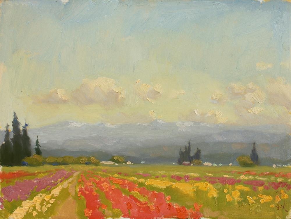 A Tale Of Tulips Art   Diehl Fine Art