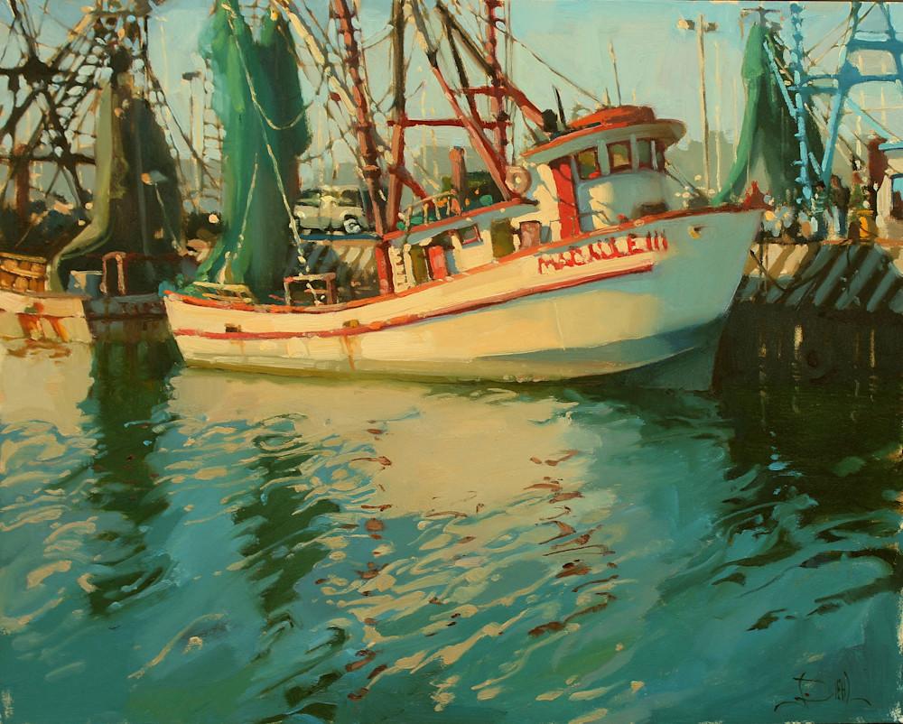 By The Docks Art | Diehl Fine Art