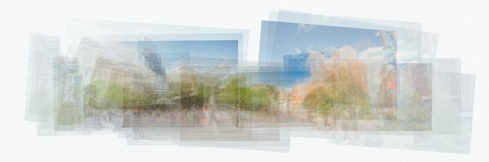 Union Square Pano Photography Art | Cid Roberts Photography LLC
