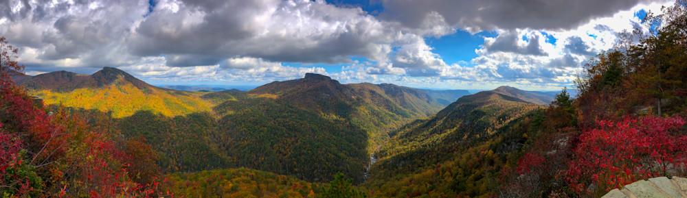Wiseman's Autumn Photography Art   Blue Ridge Zen